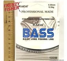 Леска BASS 0,35мм (100м)