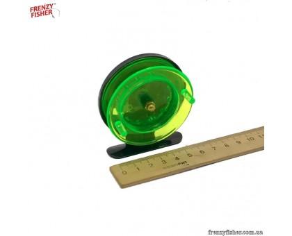 Катушка для удочки 701 пласт. черн+зелен.