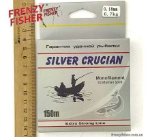 "Леска FRENZY FISHER ""SILVER CRUCIAN"" 0,18мм (150м)"