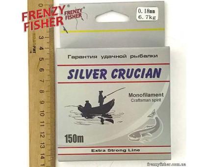 "Леска FRENZY FISHER ""SILVER CRUCIAN"" 0,18мм (150м)"