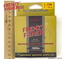 "Леска FRENZY FISHER ""GOLD CRUCIAN"" 0,20мм (100м)"