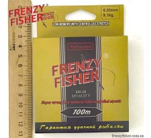 "Леска FRENZY FISHER ""GOLD CRUCIAN"" 0,25мм (100м)"