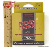 "Леска FRENZY FISHER ""GOLD CRUCIAN"" 0,30мм (100м)"