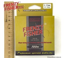 "Леска FRENZY FISHER ""GOLD CRUCIAN"" 0,35мм (100м)"
