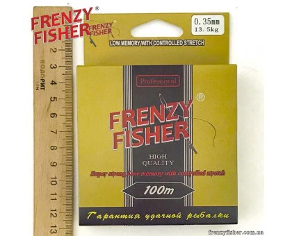 "Леска FRENZY FISHER ""GOLD CRUCIAN"" 0,35мм (100м)"