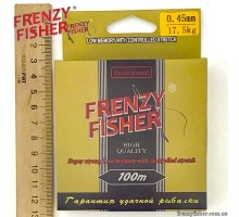 "Леска FRENZY FISHER ""GOLD CRUCIAN"" 0,45мм (100м)"