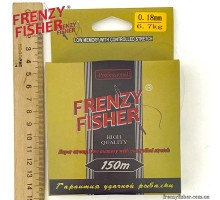 "Леска  FRENZY FISHER ""GOLD CRUCIAN"" 0,18мм (150м)"