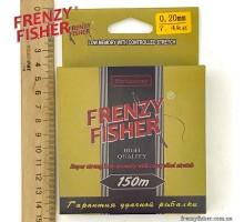 "Леска  FRENZY FISHER ""GOLD CRUCIAN"" 0,20мм (150м)"