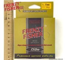 "Леска  FRENZY FISHER ""GOLD CRUCIAN"" 0,35мм (150м)"