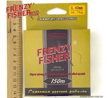 "Леска  FRENZY FISHER ""GOLD CRUCIAN"" 0,40мм (150м)"
