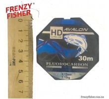 Леска Avalon Fluorocarbon 0,12мм (30м)