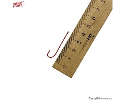 Крючок Красный длинное цевье 6 (цена за 25шт\уп)