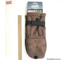 Перчатки-варешки шерсть Norfin Aurora (искус.кожа 703025 XL)