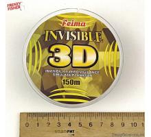 Леска 3D INVISIBLE  0.25mm 150m