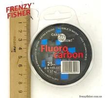 Леска Carpe Diem Fluorocarbon 0,115мм (25м)