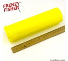Тубус для поплавков одинарный жёлтый