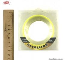 "Шнур ""Gladiator"" 4-х жильный (желтый) 135м  0,25мм"