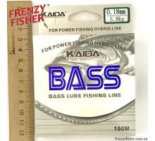 Леска BASS 0,18мм (100м)