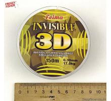 Леска 3D INVISIBLE  0.30mm 150m