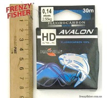 Леска Avalon Fluorocarbon 0,14мм (30м)