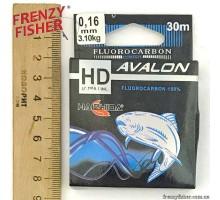 Леска Avalon Fluorocarbon 0,16мм (30м)