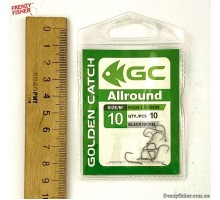 Крючок G.C. ALL AROUND №10 (10шт)