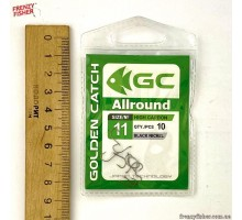 Крючок G.C. ALL AROUND №11 (10шт)