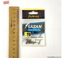 Вертлюг SAZAN №8 (12шт/уп) 38 Lb