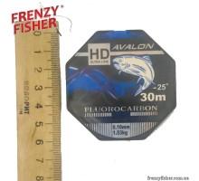 Леска Avalon Fluorocarbon 0,10мм (30м)