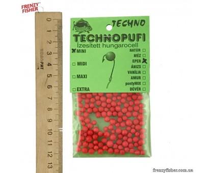 Наживка пенопласт Techno (мини) Клубника (10шт)