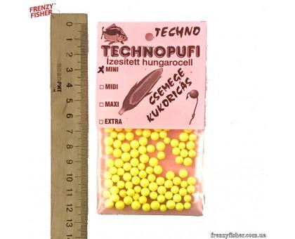 Наживка пенопласт Techno (мини) Кукуруза (10шт)