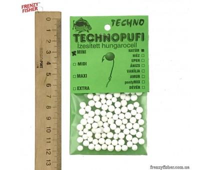 Наживка пенопласт Techno (мини) Натур (10шт)