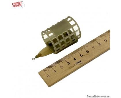 Кормушка пласт. Feeder SPORT  M3  90г с грунтозацепом