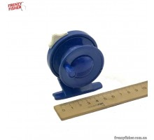 Катушка для удочки 803 пластик синяя