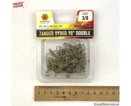 Двойник Scorpion ZANDER RYDER 90* №3/0 (100шт/уп)
