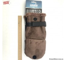 Перчатки-варешки шерсть Norfin Aurora (искус.кожа 703025 L)