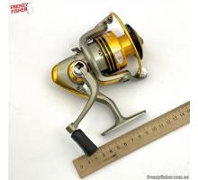 Катушка для спиннинга B DIAOZUN Silver+Gold 4000 FD 5+1 п. Ал.шп.