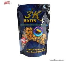 Наживка 3К Baits MIX Зерновой кукуруза (с коноплей) 400г.