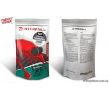 Прикормка INTERKRILL Premium Черный Криль 0.8 кг