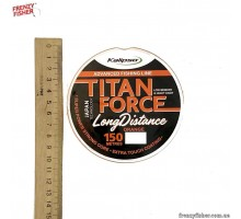 Леска Kalipso Titan Force Long Distance OR 150m 0,25мм