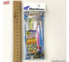 Оснастка Hayabusa с мушками и пилькером HA280 30 г