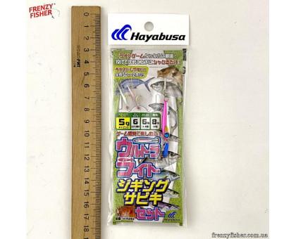 Оснастка Hayabusa с мушками и пилькером HA282 5 г