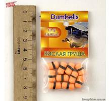 """Наживка гранулы с резинкой """"Dumbells"""" кислая груша"""