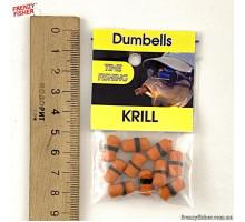 """Наживка гранулы с резинкой """"Dumbells"""" криль"""