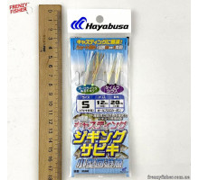 Оснастка Hayabusa с мушками HS360 S (2*2шт)