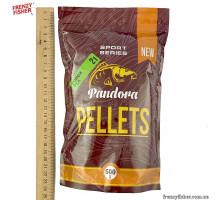 Пеллетс PANDORA Горох 2 мм 0,5кг