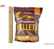 Пеллетс PANDORA Мед 2 мм 1 кг