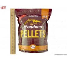 Пеллетс PANDORA Клубника 2 мм 1 кг