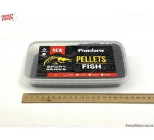 Пеллетс PANDORA рыбный 2 мм 0,5 кг (контейнер)