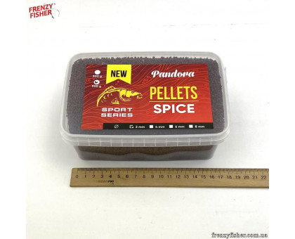Пеллетс PANDORA SPICE 2 мм 0,9 кг (контейнер)